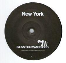 """STANTON WARRIORS / NEW YORK 12"""" UK 2011 BREAKBEAT/BREAKS PUNKS 1 SIDED PUNKS020"""