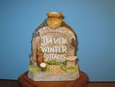 David Winter Cottages Porridge Pot Alley Series Porridge Pot Arch Ret Coa Mib