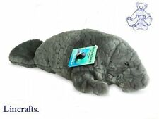 Manatee Plush Soft Toy Sea Cow by Teddy Hermann. Sold by Lincrafts 90140 REDUCED