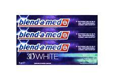 3x blend-a-med 3D WHITE 3 in1 Zahnpasta 75 ml Soft Mint