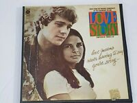 Love Story Original Sound Track Reel to Reel Stereo 4 Track Tape 3 3/4 IPS