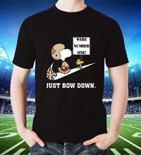 Nfl Team Football Peanuts Snoopy Joe Cool New Orleans Saints T shirt Unisex