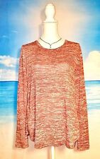 OLD NAVY Womans Stretch TUNIC Shirt Juniors Burgundy Top size Med