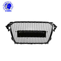Honeycomb Audi Sport For 2013-2015 S4 Style Grill A4 Mesh Front B8.5 RS4
