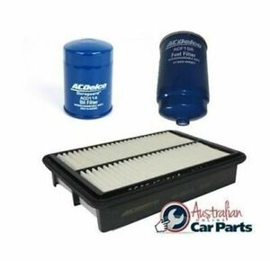 Oil Air Fuel Filters Diesel ACDelco suitable for Hyundai iMax 2008-2015 2.5l ser