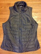 Tangerine Solid Gray Lightweight Vest, Size XL, Zippered Pockets, GUC