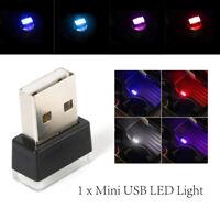 Flexible Mini USB LED Light Colorful Light Lamp Car Atmosphere Lamp Accessories