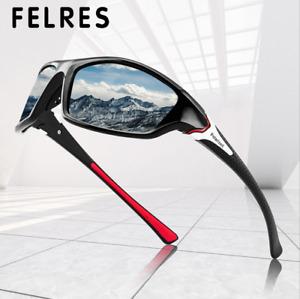 Polarized Sport Sunglasses For Men Women Outdoor Driving Fishing UV400 Glasses