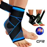 Ankle Support Brace Plantar Fasciitis Compression Sock Foot Joint Pain Sleeves O