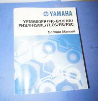 2001 Yamaha YFM660  OEM Paper Factory Service Manual