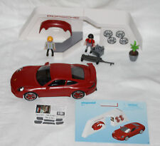 GEOBRA PLAYMOBIL 3911 PORSCHE CARRERA EUROPE ONLY WITH FIGURES CONVERTABLE