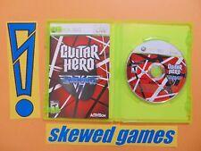 Guitar Hero Van Halen - cib - XBox 360 Microsoft