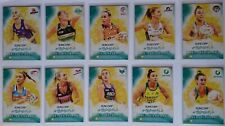 2019 Suncorp Super Netball - Teamgirls Ambassadors Complete Set 10 Trading Cards