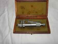 Helios intérieur Messschraube Intérieur Micromètre Micromètre 25-50 mm en bois