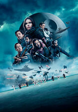 Star Wars Rogue One D A1 High Quality Canvas Art Print