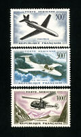 France Stamps # C34-6 VF OG LH Catalog Value $75.00
