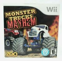 Monster Trucks Mayhem Nintendo Wii Game