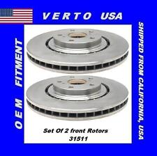 Front Brake Rotors For Lexus  NX200t, NX300, NX300h, RX350, RX450h Base on Chart