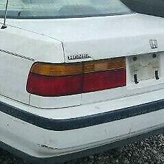 Honda Accord 2 Door, 4 Door Sedan: 1990, 1991, Leftt Tail Reverse Light