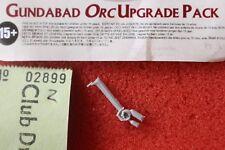 Señor De Los Anillos El Hobbit Gundabad Orcos actualización espada brazo Bit LOTR orcos Nuevo B