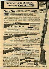 1973 PAPER AD Shotguns Western Field Ithaca BB Gun Daisy Red Ryder M/880 M/51