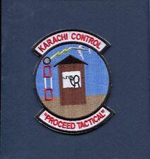 KARACHI PAKISTAN PAF MASROOR CONTROL USAF Base Squadron Aircraft Patch