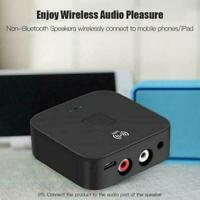 Wireless Bluetooth NFC Receiver 5.0 aptX LL RCA 3.5mm N E Audio Jack Aux F4E2