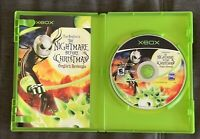 Nightmare Before Christmas: Oogie's Revenge (Microsoft Xbox, 2005) Complete