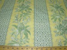 """~2 6/8 YDS~SCHUMACHER~ """"ALMERIA"""" FLORAL~COTTON  UPHOLSTERY FABRIC FOR LESS~"""