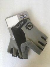 New Kona Short Finger Cycling Gloves Extra Large Grey / Black