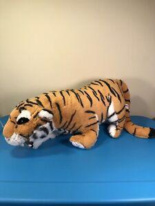 "1999 Discovery Channel 30"" Jumbo Tiger Plush Stuffed Animal Safari Real - JUMBO!"