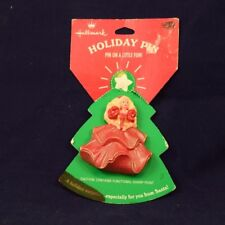 New Vintage Hallmark Holiday Pin, Barbie 1995 Mattel FREE SHIPPING