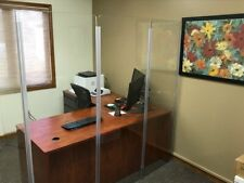 Germ Shield Wall Wall Divider Plexiglass Wall Booth Divider Ds65l