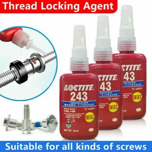 Loctite 243 Thread Lock 50ml Blue Bolt Stud Fast Fix Screw Glue Nut Compound UK