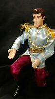 Articulated Prince Charming Cinderella Disney Store Classic Princess Doll Barbie