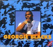 GEORGIE Blacks-kick up and wine-slaughteration ♫ MAXI SINGLE-CD'94 ♫ come nuovo
