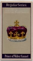 Prince Of Wales Coronet Charles II Coronation Crown Jewel 1920s  Trade Ad Card