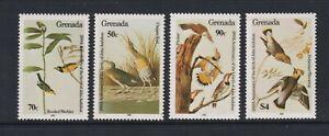 Grenada - 1985, J Audubon, Birds, 1st series set - MNH - SG 1378/81