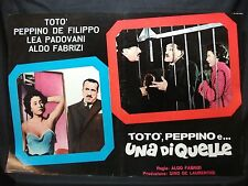 FOTOBUSTA CINEMA - TOTÒ, PEPPINO E UNA DI QUELLE - TOTÒ - 1953 - DRAMMATICO -07