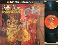 Ballet Music From The Opera - Rca/Victor Reissue Lp paris orchestra red seal Nm
