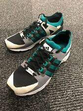 Adidas Equipment Running Support EQT PK Boost UK 9 Primeknit Green and Black