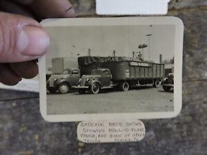 Circus Photo, Zacchini Bros. Shows, Roll O Plane Truck, Arnold, PA.