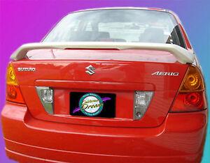 UNPAINTED SUZUKI AERIO 4-DOOR SEDAN CUSTOM STYLE SPOILER 2003-2008