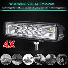 4X 18W LED Arbeitscheinwerfer Flutlicht Nebel Lampe Strahler LKW SUV Jeep DC12V