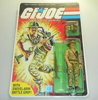 *RECARDED* 1983 GI Joe Recondo v1 Figure Complete Sealed *CUSTOM File Card Back*