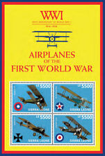 Sierra Leone- 100th Anniversary of World War I Stamp - Sheet of 4 MNH