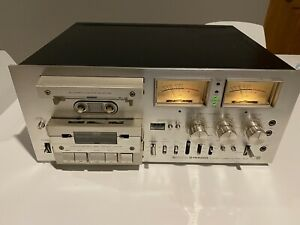 Pioneer CT-F1000 Vintage Stereo Cassette Player, Powers on, PARTS / REPAIR
