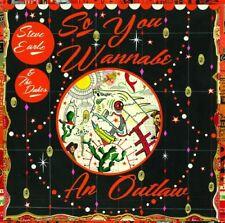 Steve Earle & the Du - So You Wannabe An Outlaw [New CD] With DVD