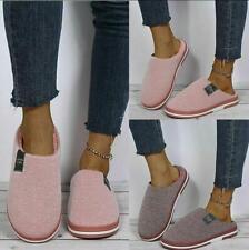 Herren Damen Pantoffeln Puschen Hausschuhe Schlappen Schuhe Winter warm Fell