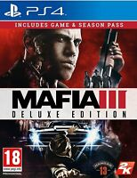Mafia 3 Deluxe Edition For PS4 (New & Sealed)